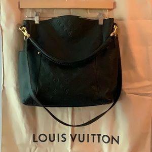 Authentic Louis Vuitton black bagatelle